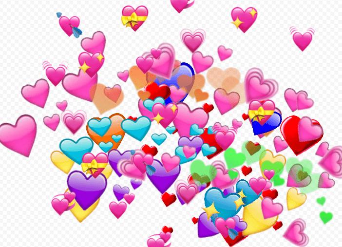 Что значит цветное сердце в вк