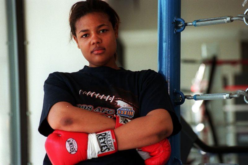 Фрида Форман - дочь известного боксёра