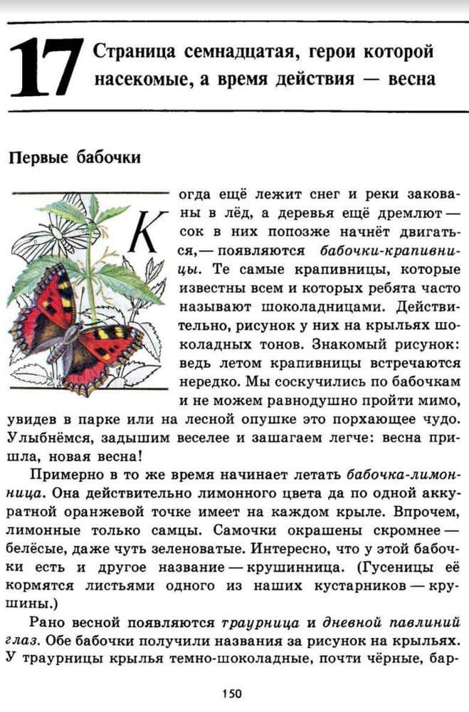 """Рассказ """"Первые бабочки"""""""